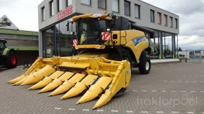 New Holland CR 9070 Mähdrescher Gebraucht in 5466 RB Veghel, Niederlande (bat2511011) - traktorpool.de - Der Marktplatz für Landtechnik