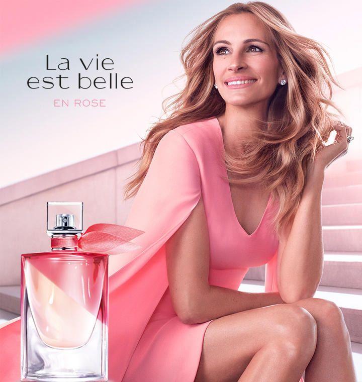 Lancome La Vie Est Belle En Rose 2019 Fragrance Lipstick Beauty Trends And Latest Makeup Collections Chic Profile Julia Roberts Julia Lancome Fragrance