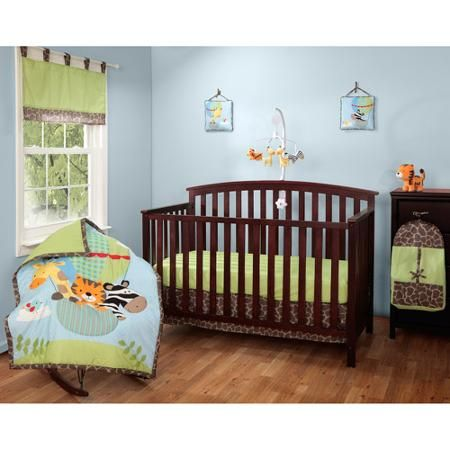Baby Boom Balloon Friends Baby Bedding Collection