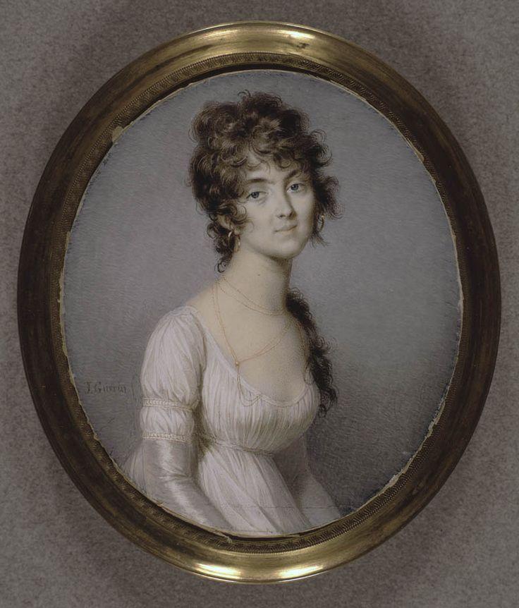 Jean-Urbain Guérin Portrait de Jeanne Fanny Noisette