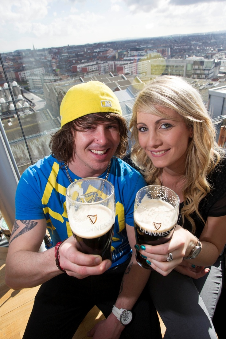 St Patrick's Festival at the Gravity Bar in the Guinness Storehouse.