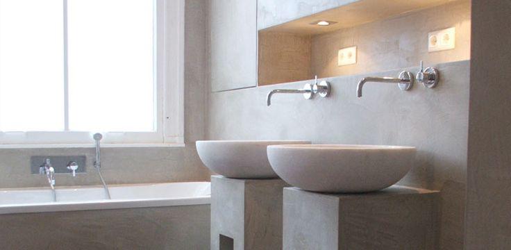 Beton-Cire: bijzonder stucwerk http://www.beton-cire.nl