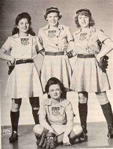 All-American Girls Baseball 1940's