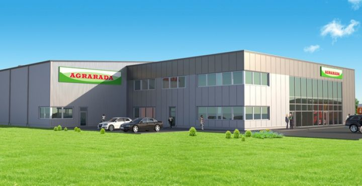 hala magazynowa Agrarada, więcej zdjęć http://www.cobouw.pl/hala-magazynowa-agrarada