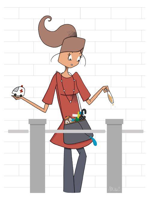 Mad'moiselle C , illustratrice, agence Marie Bastille // cette image appartient à son auteur et/ou l'agence Marie Bastille + d'infos sur le site //