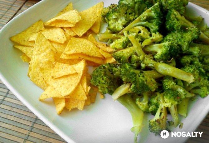 Fűszeres-citromos sült brokkoli