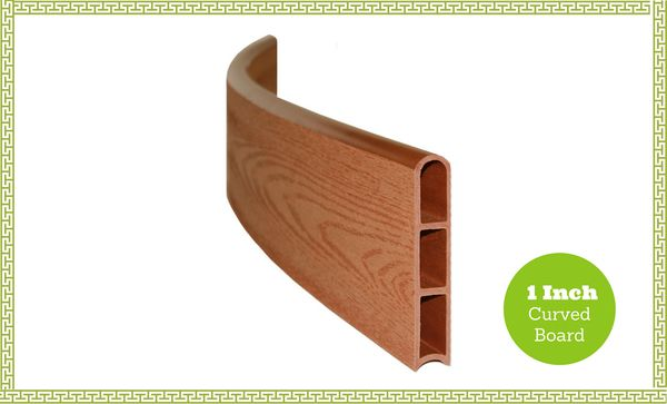 Frame-It-All Composite Board Standard Curved - 1in - Classic Sienna