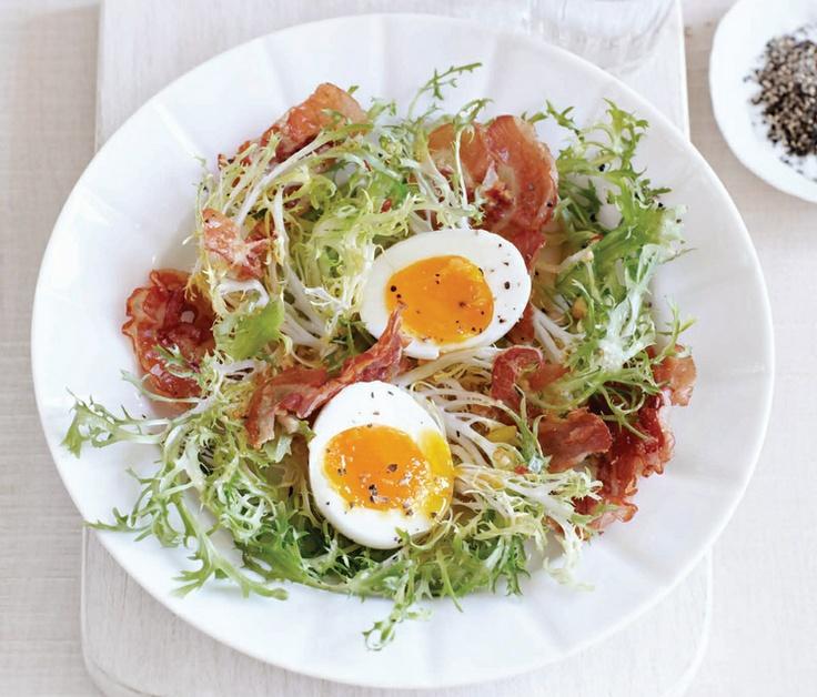 Sweet Paul's Bistro Salad w/ Pancetta #eggs