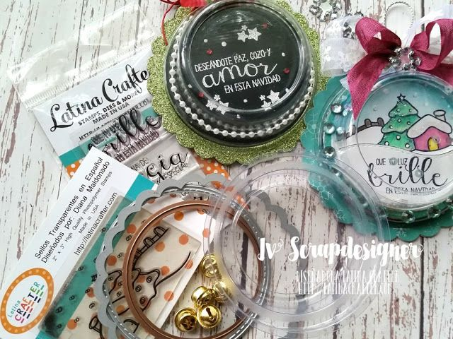Iv ScrapDesigner: Blog Hop Navidad en julio con Latina Crafter
