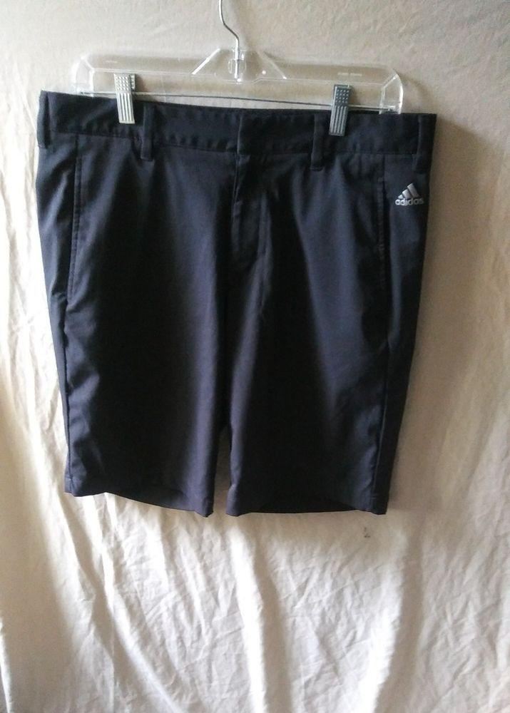 Adidas ClimaLite Puremotion Stretch 3-Stripes Golf Shorts Size 32 #Adidas #AdidasClimaLitePureMotion  #Men'sGolfShorts