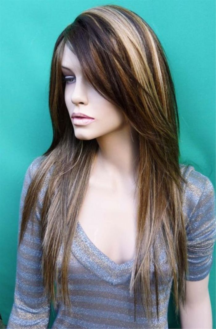 dark chestnut brown hair with highlights - Bing Images
