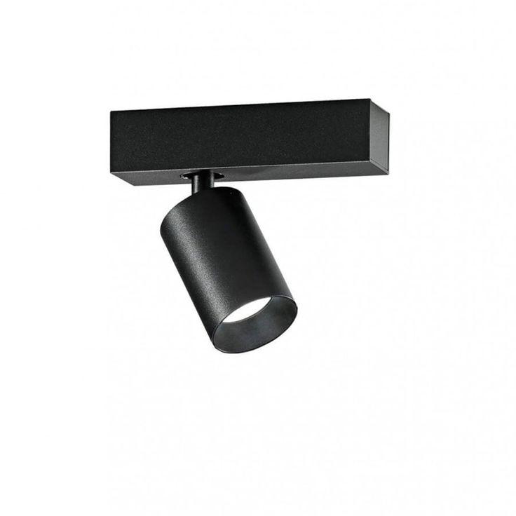 Saturno 1-flammig LED Deckenstrahler schwarz-schwarz -  - A054499.004