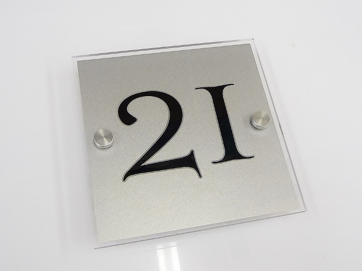 54 best House Plaques - Small Number Signs images on Pinterest ...