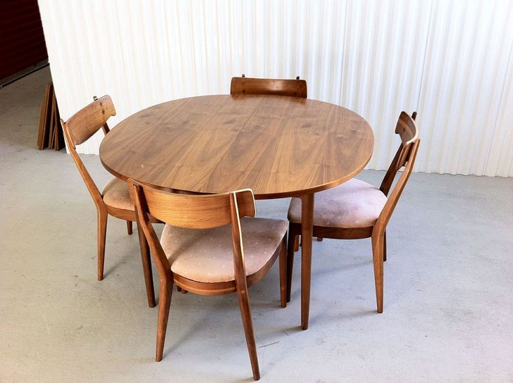Mid Century Modern Drexel Declaration Dining Set Furniture
