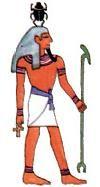Bij  les 1.2  Egyptische Goden en Godinnen, hier vindt u een lijst met bijna alle goden van het Oude-Egypte en de betekenis daarvan