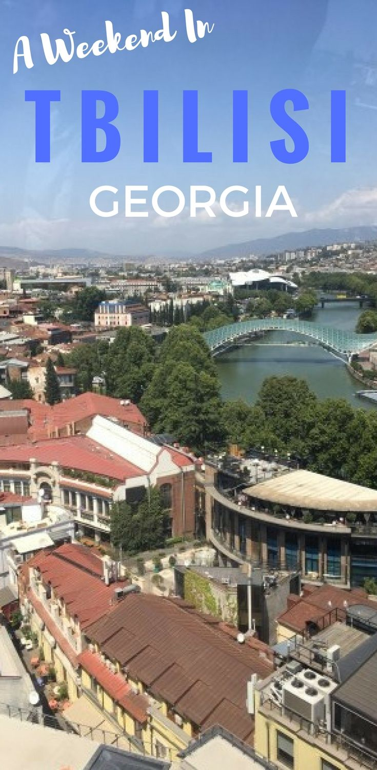 How to spend a fabulous weekend in Tbilisi, Georgia.  This glorious capital city is full of Silk Road cultural influences, incredible cuisine and magnificent architecture.  #theSilkRoad #Tbilisi #travel #georgia