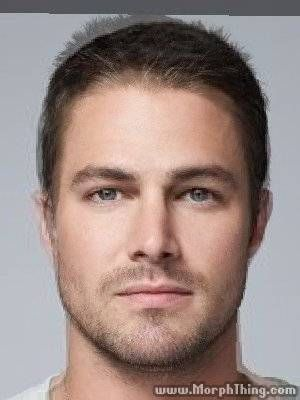 Tyler Kinney and Stephen Amell