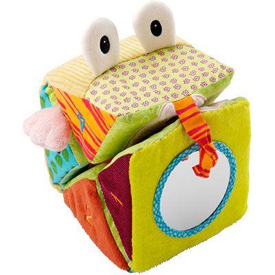 Lilliputiens Jouet d'éveil bébé cube magique jef