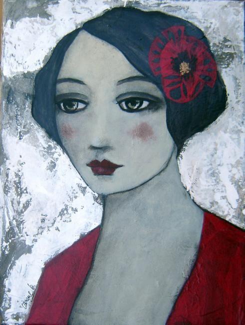 Carine Bouvard | Painting, 40 x 30 cm ©2011 par carine b - Peinture