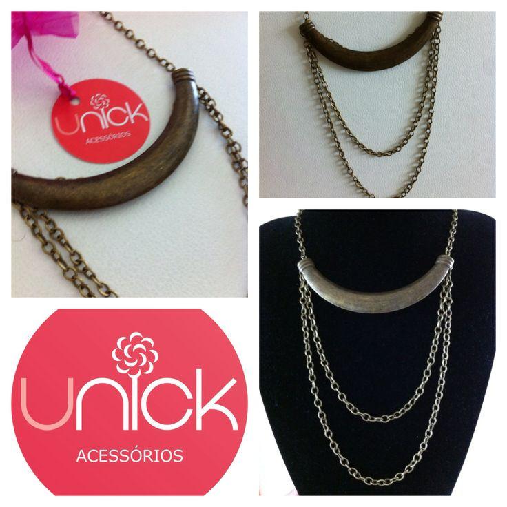 Colar , necklace - unickacessorios@gmail.com