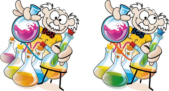 Encuentra las 7 diferencias de este profesor chiflado. ¡Dí con las siete! :) Excelente para mejorar la Atención y la Memoria.