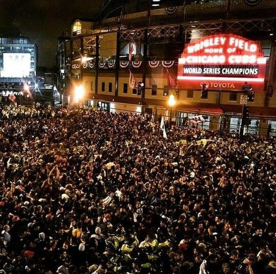 No fans like Chicago Cubs fans