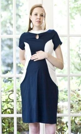 Wonderland Dress, $92.: Apples Wonderland, Sorting Sleeve, Shabby Apples, Dresses Online, White Sorting, Sleeve Maternity, Maternity Dresses, Wonderland Dresses, Blue And White
