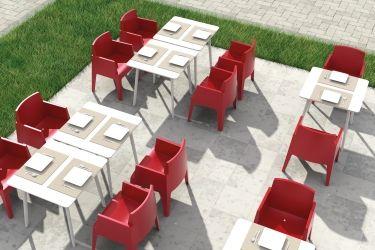 #Sedia Ginko rosso #polipropilene per il tuo #giardino o #terrazzo di design! Scoprila su http://www.chairsoutlet.com/ita/articolo/sedie/sedie-da-esterno/poltroncina-da-esterno-ginko-chairsoutlet-com/13/45/415.php