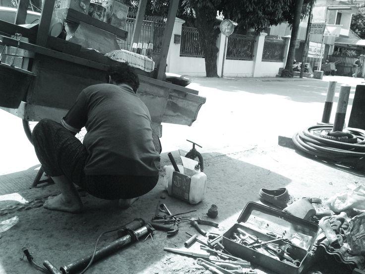Repair the wheels