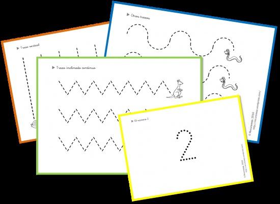 Quadern de grafomotricitat