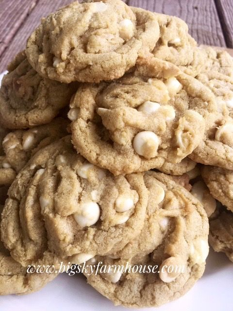 Share on FacebookShare on PinterestShare on TwitterShare on Google+ What in the world can be better than a Macadamia Nut Ghirardelli White Chocolate Chip Cookie? Not much in this ladies world. There is something to be said about the macadamia nut…smooth and almost buttery with a consistency you want to keep biting into just to … … Continue reading →