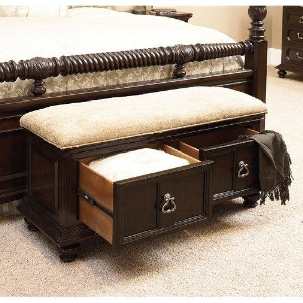 17 Best Images About Bedroom On Pinterest Bedroom Storage Bench White Bedroom Furniture And