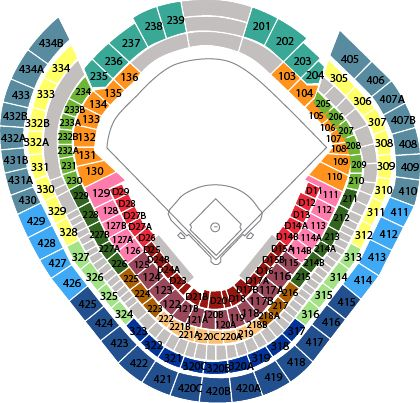 Yankee Stadium seating chart July 24th  sfGiants vs Yankees