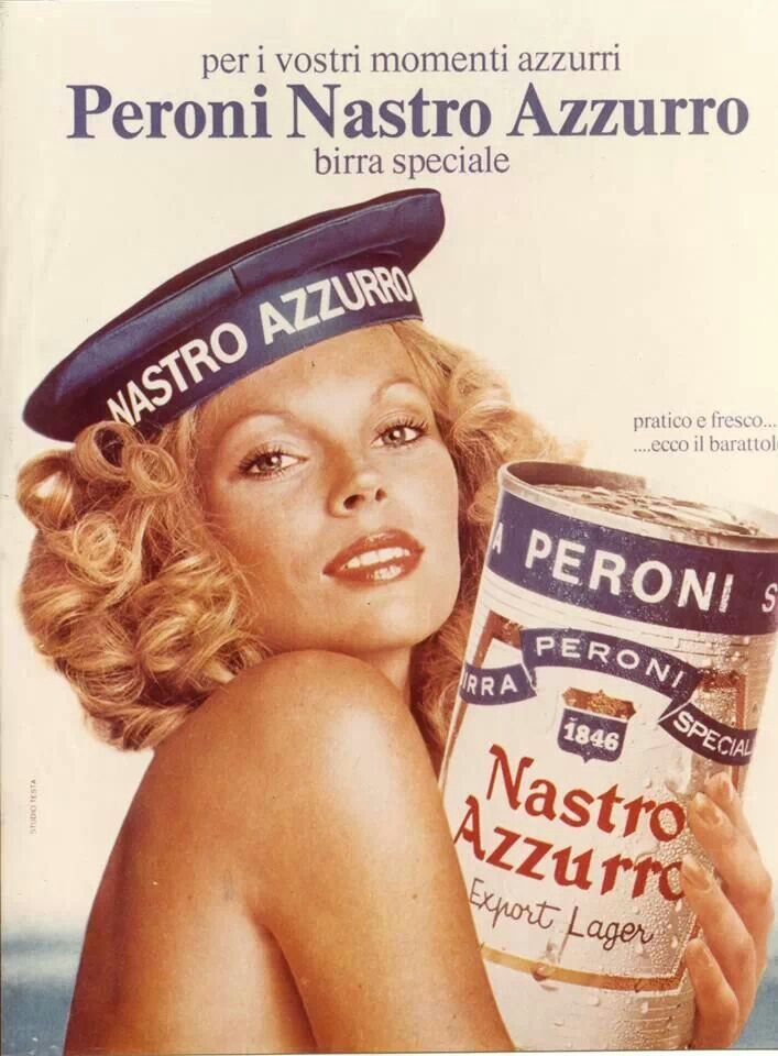 Have a peroni :) #peroni #birra #beer #vintage #advertisement