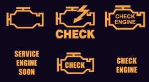 Most of us at one point or another has had a light come on their dashboard and we've either been very worried by it, or maybe ignored it until there was time to see our local mechanic. Well, worry no further! We are here to provide you with the most important and most common errors that we see in customers' vehicles day in and day out. Below is a list of the pictures and their explanations.