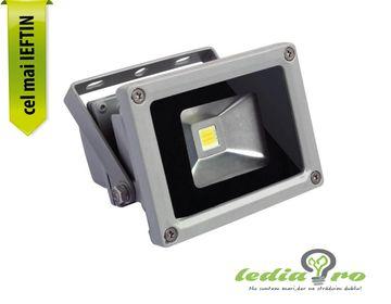 Proiector cu LED  10W , de  exterior,  IP65 10W ALB RECE