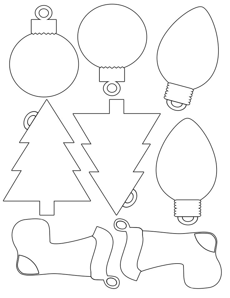 Printable Gift Tags Template | 14) Pics In Our Database For - Christmas Tree…