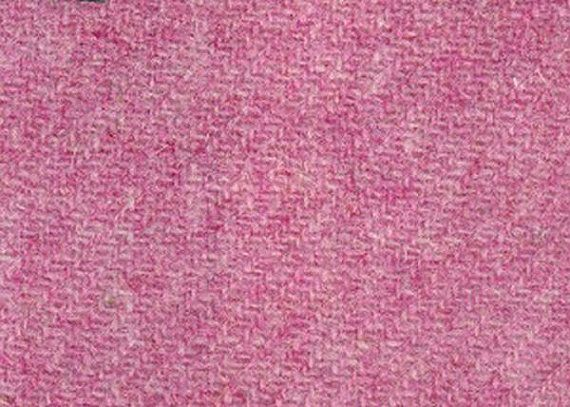Harris Tweed Cloth Fabric Light Pink Double Width Luxury Handwoven 100% Pure Virgin Wool handwoven in Outer Hebrides Scotland