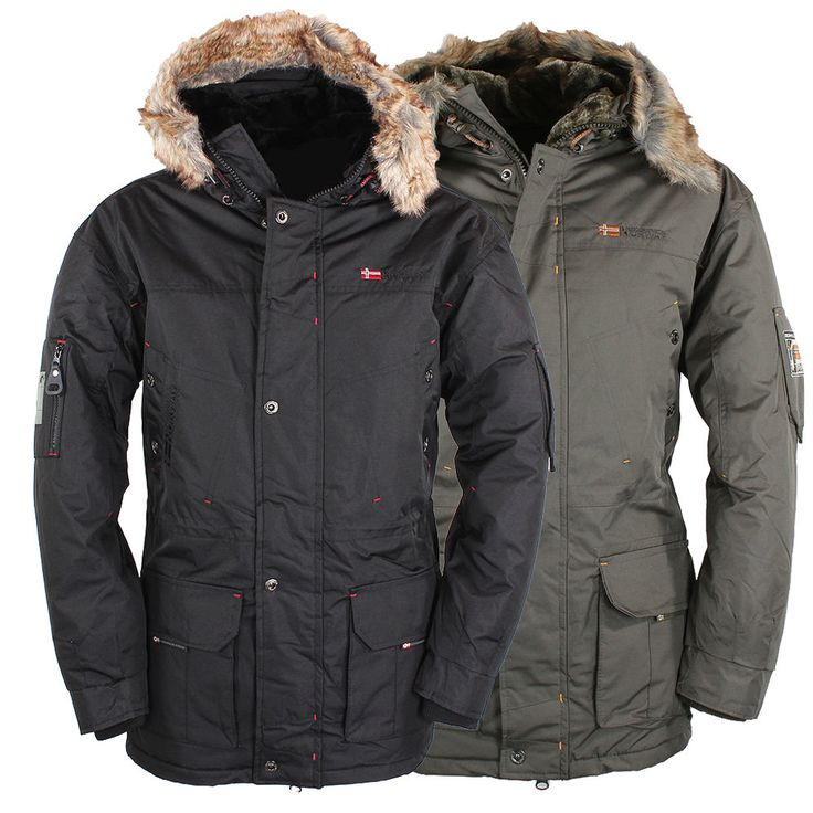 Fifty five herren 3 in 1 winterjacke alaska