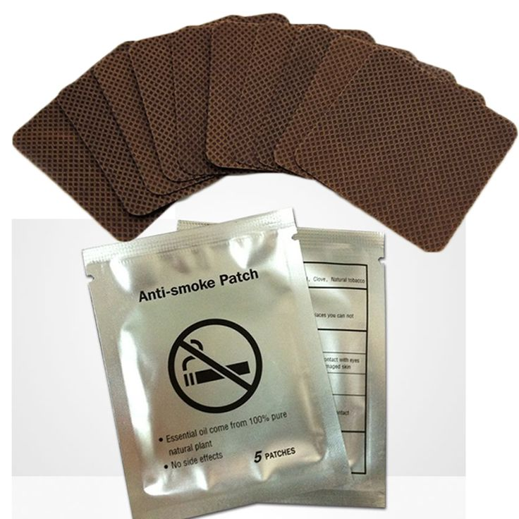 Anti-Smoke Patch 5*5cm Stop Smoking Patches Health Care Product Smoking Cessation No Bad Effects Body Stop Smoking Patches C744