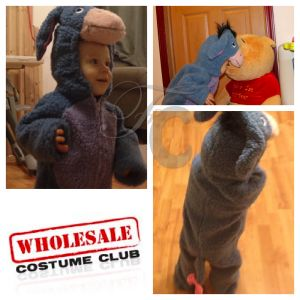 Review: Wholesale Costume Club (Eeyore toddler costume)