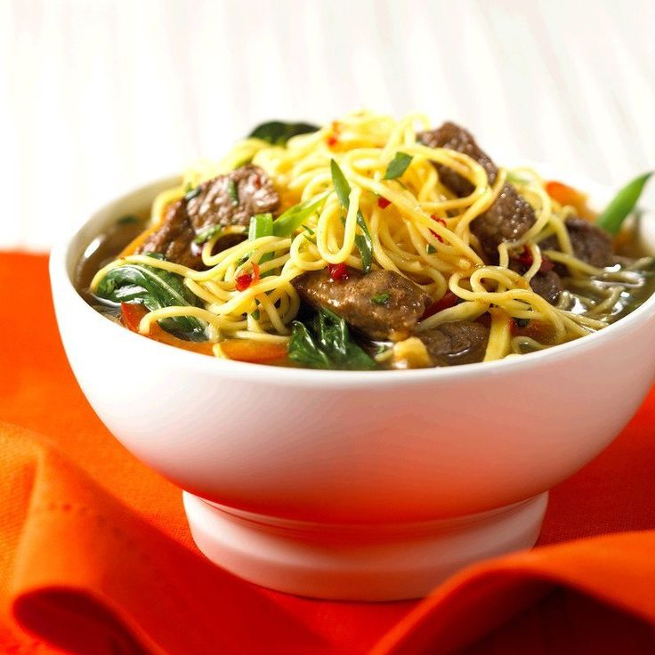 Beef Noodle Bowl | Canadian Beef