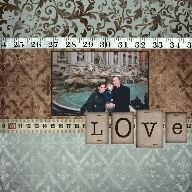 Love - Scrapbook.com - Beautiful color match from the photo to the fantastic products chosen from Die Cuts With A View #scrapbooking #diecutswithaview