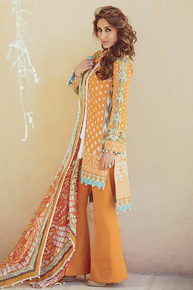 Faraz Manan Lawn collection 2016 Pictures