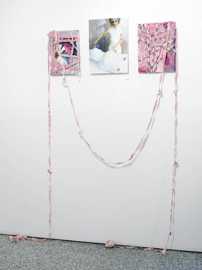 Barbihoitsu - painting/collage/assemblage Annukka Mikkola - photos Sanna Peurakoski 2008