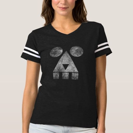 Designed stylish smoky creepy ghost face mask women' sport tshirt