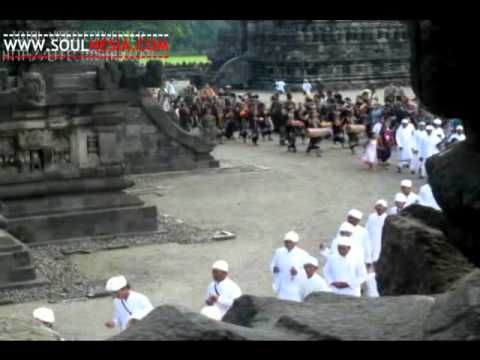 Tawur Agung Kesanga Ceremony (Hindu) in Prambanan temple is held a day before the Nyepi day. Nyepi day is a big religious day for Hindu people. The Tawur Agung ceremony was started from 9 a.m. and finished around the 2 p.m. There were thousand of people attending this ceremony. The ceremony itself was located in the Prambanan temple and also in the east yard of the temple. In the east yard of the temple, an open stage was built to hold performances. There were performed different kind of…