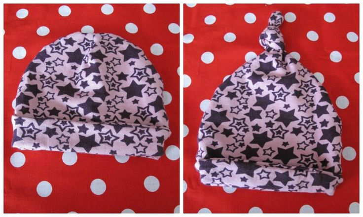 Tuto: Bonnets de naissance