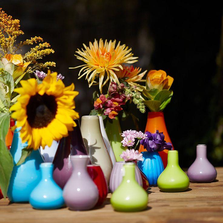 LOLA váza 16cm türkiz