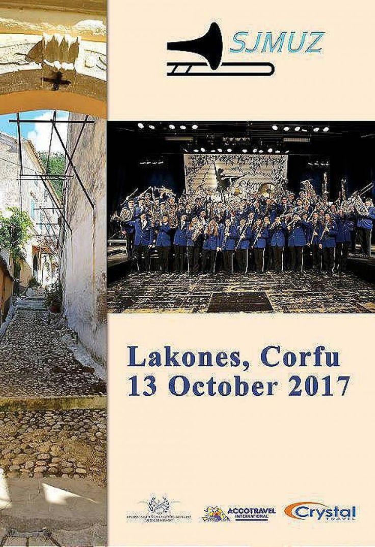 Συναυλία με τους SJMUZ και τη Φιλαρμονική Λακώνων, στο Golden Fox στους Λάκωνες Κέρκυρας